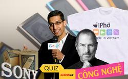 Quiz: Chấm điểm tầm hiểu biết cơ bản về công nghệ của bạn đến đâu