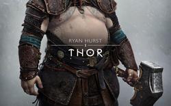 """Mời bạn chiêm ngưỡng """"bụng bia"""" của Thor trong God of War Ragnarök"""