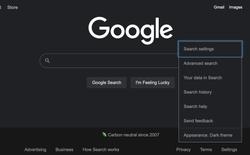 Google Search cuối cùng cũng có chế độ dark mode cho trình duyệt máy tính