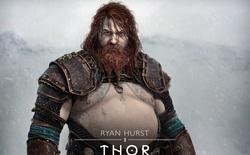 Đúng là Thor trong God of War Ragnarok bụng to thật, nhưng đây là béo khỏe béo đẹp