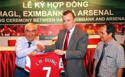 """Những thương hiệu Việt """"lên hạng"""" cùng chuyến du đấu của Arsenal"""