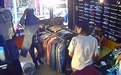 Mua quần áo, trộm iPhone 4 trong nháy mắt