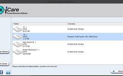 Phục hồi dữ liệu xóa nhầm với iCare Format Recovery Pro