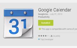 Ứng dụng Google Calendar cập nhật tính năng đồng bộ chéo giữa các thiết bị