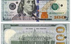 Mỹ lưu hành tờ 100 USD mới và những dấu hiệu nhận biết thật giả