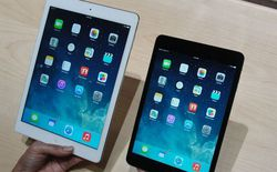 Bộ đôi iPad Air và iPad mini Retina có giá bán chính thức tại Việt Nam