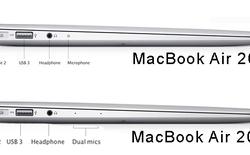 So sánh MacBook Air 2013 và thế hệ trước