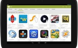 """""""Chợ"""" Google Play có danh mục ứng dụng tối ưu cho tablet"""