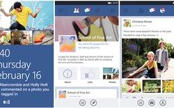 Sau nhiều năm chờ đợi, Windows Phone 7 mới có ứng dụng Facebook riêng