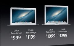 Apple nâng cấp MacBook Air với chip Haswell, pin lâu hơn, bắt đầu bán hôm nay