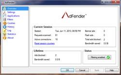 AdFender - Chặn quảng cáo triệt để