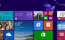 Windows 8.1 phiên bản Preview đã cho phép tải về