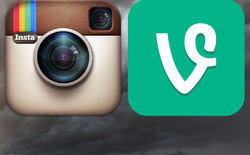 Instagram video đè bẹp Vine ngay trên sân nhà