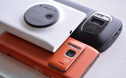 """Lumia 1020 so dáng cùng """"đồ cổ"""" PureView 808 và Nokia N8"""