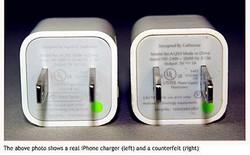 Apple giúp người dùng phân biệt sạc chính hãng với sạc nhái
