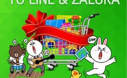 LINE và ZALORA mang tới mưa quà tặng