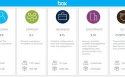 Dịch vụ lưu trữ đám mây Box tăng dung lượng miễn phí lên 10 GB