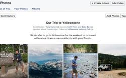 Facebook thử nghiệm tính năng cho phép nhiều người tải hình ảnh lên cùng một album