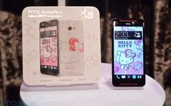 Chính thức ra mắt HTC Butterfly S Hello Kitty nữ tính