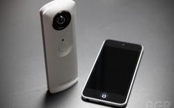 Theta: Camera chụp ảnh góc rộng chỉ cần một lần nhấn nút