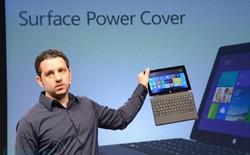 Bàn phím gắn rời của Surface Pro 2 giúp tăng thời gian sử dụng lên gấp ba