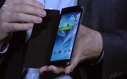 Điện thoại Samsung màn hình cong đã xuất hiện từ lâu