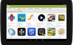 Google giúp người dùng tablet Android dễ tìm được ứng dụng tối ưu cho máy tính bảng