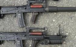 """Sức mạnh súng trường OC-14 """"Groza"""" của đặc nhiệm Nga"""
