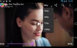 Tìm kiếm bằng giọng nói trên ứng dụng Zing Mp3 mới