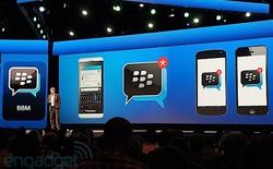 Dịch vụ nhắn tin BBM có mặt trên iOS và Android