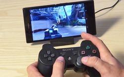 Có thể dùng tay cầm PS3 để chơi game trên các máy Xperia
