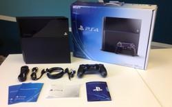 """""""Đập hộp"""" PS4 phiên bản thương mại"""
