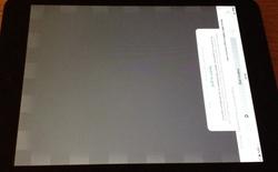 iPad mini Retina vừa ra mắt đã vướng lỗi màn hình khó chịu