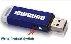 """Các bước khắc phục lỗi """"Write Protection"""" trên USB"""