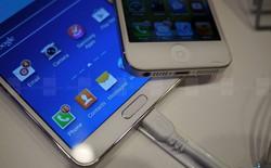 Galaxy Note 3 vs iPhone 5: Đọ sắc đọ tài