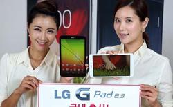 """Tan tành giấc mơ giá """"đẹp"""" cho tablet khủng LG G Pad 8.3"""