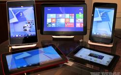 HP giới thiệu đồng loạt 5 mẫu tablet mới, trải rộng khắp các phân khúc thị trường