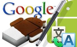 Google Translate cho Android tiếp tục hoàn thiện khả năng dịch chữ viết tay