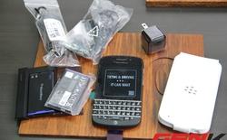 Sờ tận tay Blackberry Q10 bản dành cho lãnh đạo nhà mạng duy nhất tại Việt Nam