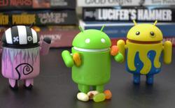 Jelly Bean phát triển nhanh, chiếm 40% tổng số thiết bị Android