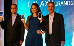 Samsung chính thức ra mắt Galaxy Grand 2 với thiết kế nhựa giả da