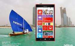 Rò rỉ ảnh báo chí: Lumia 1520 nổi bật trong sắc đỏ