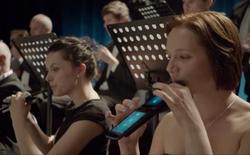 Hòa tấu giao hưởng bằng tablet và smartphone