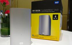 WD giới thiệu bộ đôi thiết bị lưu trữ mới dành cho Mac