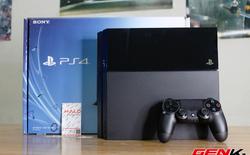 Mở hộp máy chơi game PS4 đầu tiên về Việt Nam