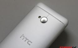 Cận cảnh HTC One phiên bản hai sim, nắp lưng tháo rời