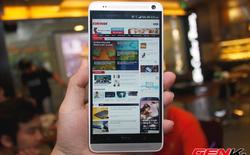 Cận cảnh HTC One Max tại Việt Nam