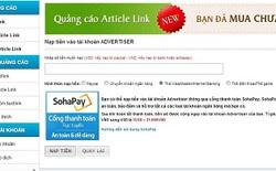 Textlink.vn tích hợp thanh toán trực tuyến qua Sohapay
