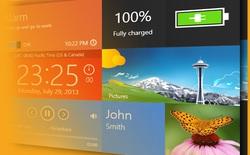 Sidebar theo phong cách Metro cho Windows 7/8