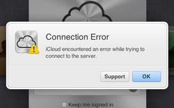 Hàng loạt dịch vụ trực tuyến của Apple liên quan tới iCloud bị gián đoạn